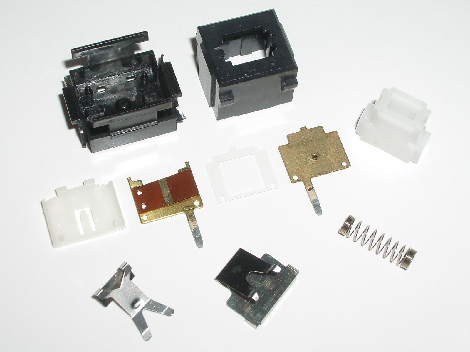 Alps SKCM White Disassembled