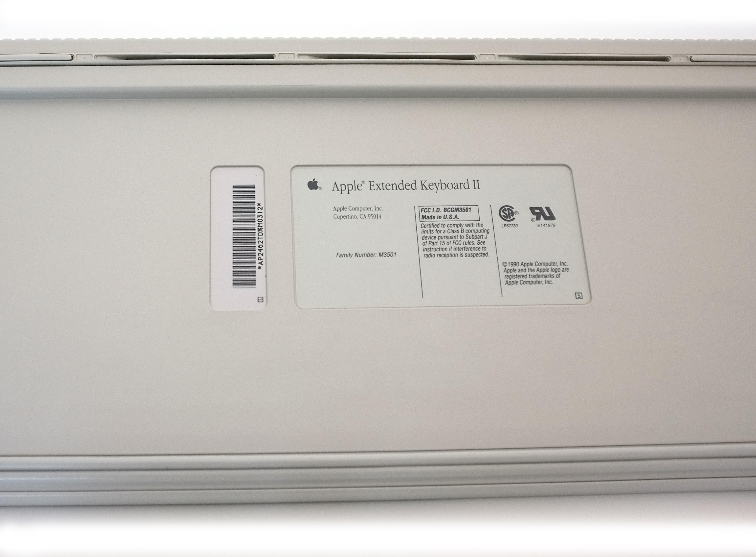 Reviewed Apple Extended Keyboard Ii Macclack